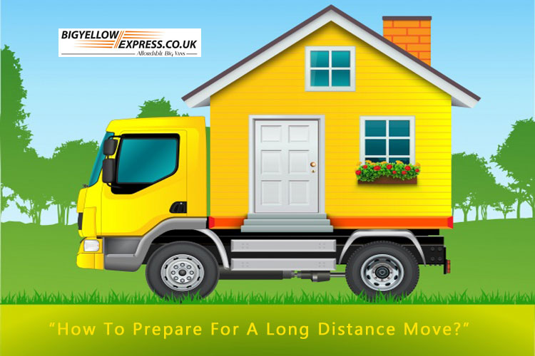 How to prepare for a long distance move?